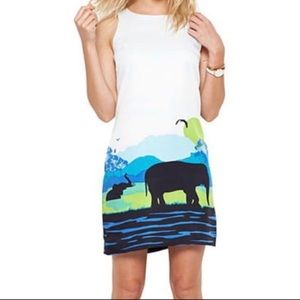 Crown & Ivy | Elephant Safari Shift Dress Size 6